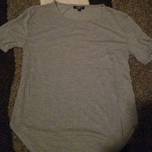 TopShop grey tshirt